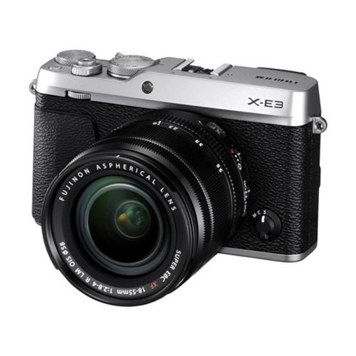 Fujifilm Mirrorless Digital Camera X-E3 with Kit XF 18-55mm - Silver