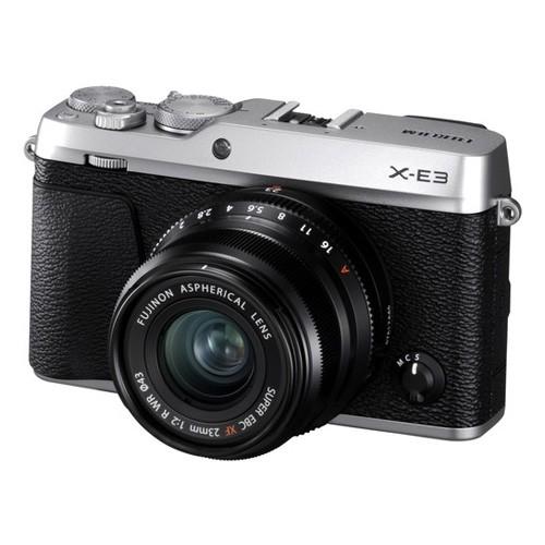Fujifilm Mirrorless Digital Camera X-E3 KIT XF23MM - Silver