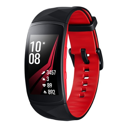 Samsung Gear Fit2 Pro Long Strap - Diamond Red