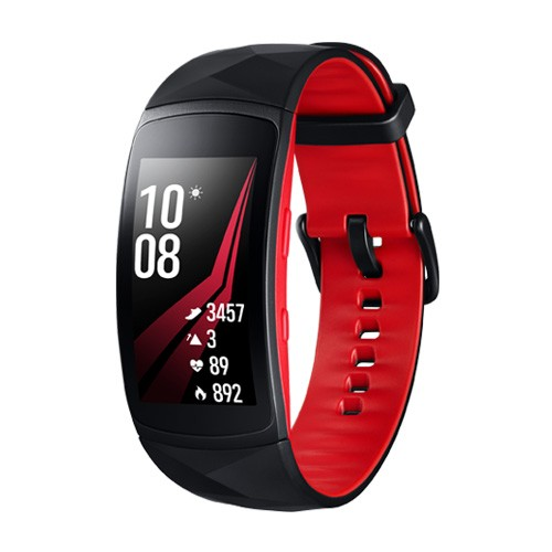 Samsung Gear Fit2 Pro Short Strap - Diamond Red