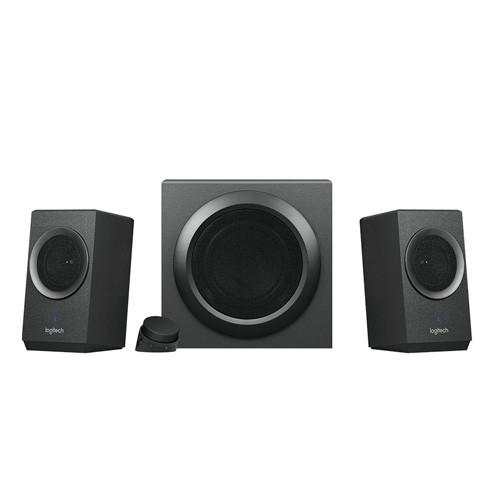 Logitech Bold Sound with Bluetooth Speaker System Z337 - Black