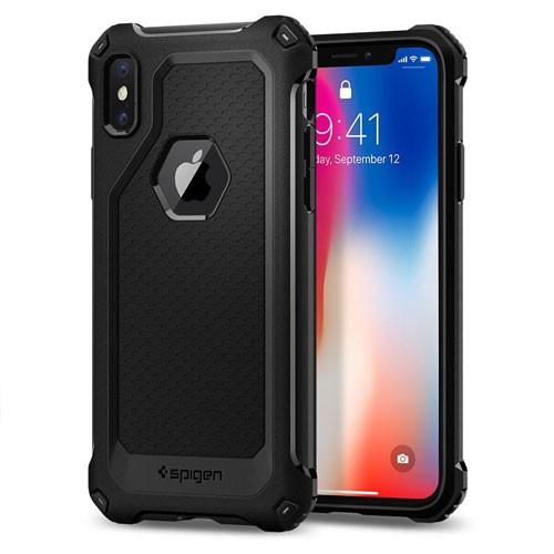 Spigen Rugged Armor Extra Case for iPhone X - Black