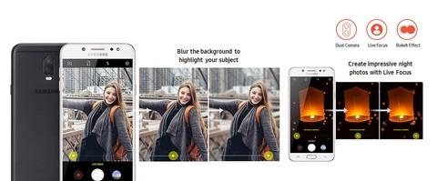 Samsung Galaxy J7+ (Black)