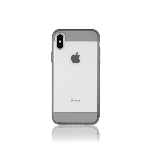 Clear Edge for iPhone X - Crystal Black
