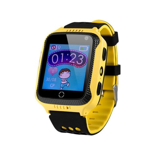 Wonlex Kids Watch with Touchscreen & Camera GW500S - Yellow