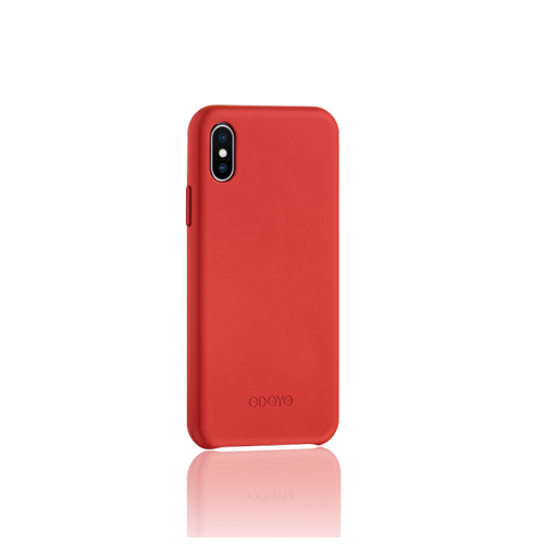 ODOYO Snap Edge for iPhone X - Burgundy Red