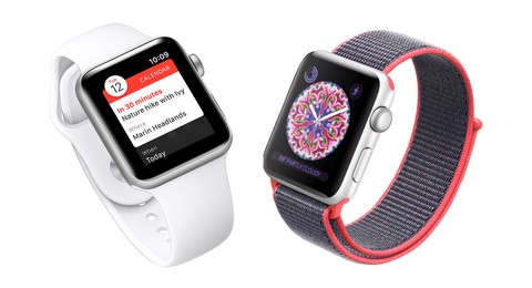 Apple Watch Nike+ Series 3 GPS 42mm - Silver Aluminum Case with Pure Platinum/Black MQL32ID/A
