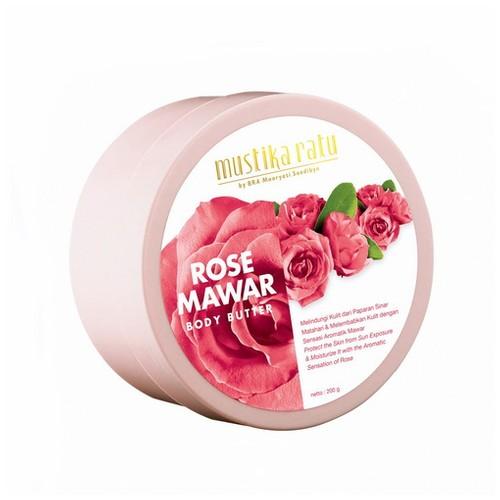 ROSE BODY BUTTER 200 GR