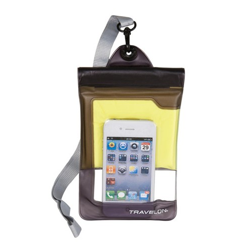Travelon Wtrprf Camera/Phone Pouch , Yellow