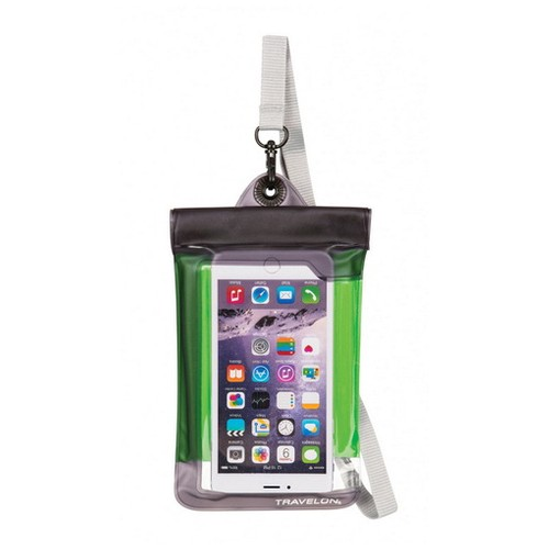Travelon Wtrprf Camera/Phone Pouch , Green