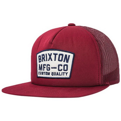 Brixton National Mesh Cap, Burgundy, (Os)