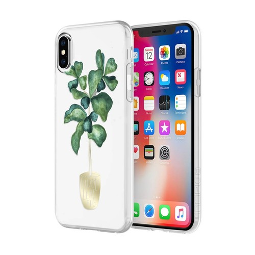 INCIPIO Sarah Simon for iPhone X - Fiddle Leaf Fig