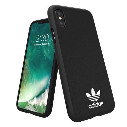 Adidas Basic Logo Case for iPhone X - Black/White