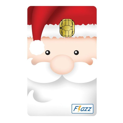 BCA Flazz - Santa Clause
