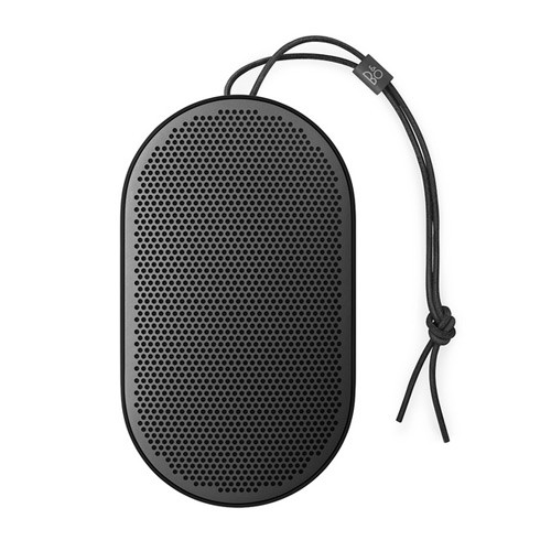 Bang & Olufsen Beoplay P2 Portable Bluetooth Speaker with Built-In Microphone - Black