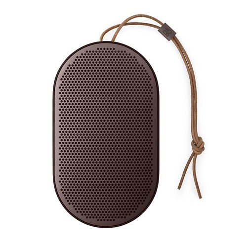 Bang & Olufsen Beoplay P2 Portable Bluetooth Speaker with Built-In Microphone - Umber