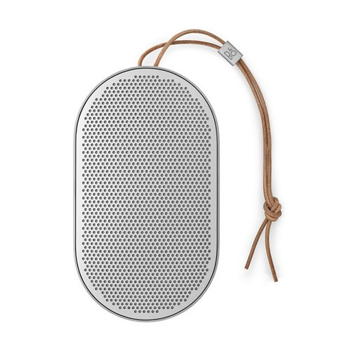 Bang & Olufsen Beoplay P2 Portable Bluetooth Speaker with Built-In Microphone - Natural