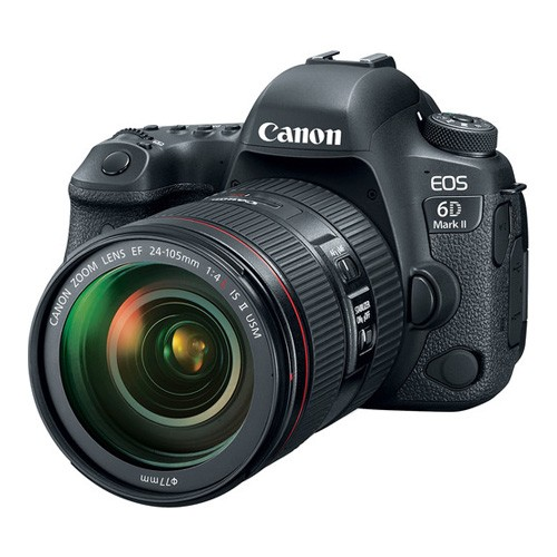 Canon EOS 6D Mark II DSLR Camera with Kit (EF24-105mm f/4L IS II USM)