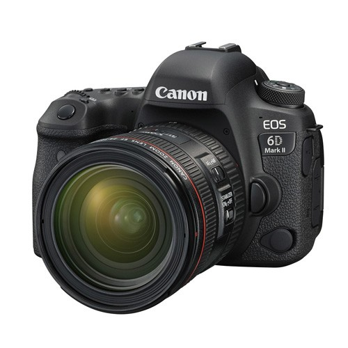 Canon EOS 6D Mark II DSLR Camera with Kit (EF 24-70mm f/4L IS USM)