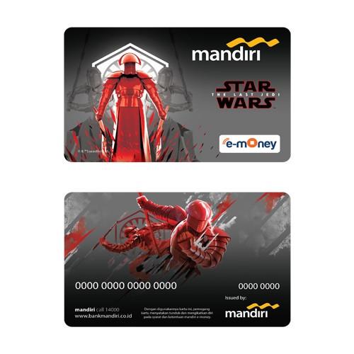 Mandiri e-Money Star Wars The Last Jedi - Praetorian Guard