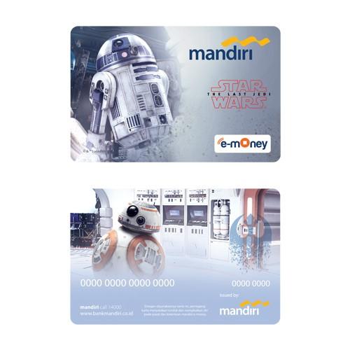Mandiri e-Money Star Wars The Last Jedi - R2-D2