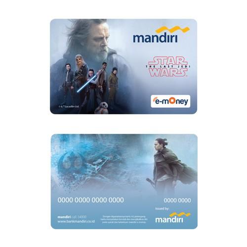 Mandiri e-Money Star Wars The Last Jedi - Resitance