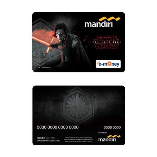 Mandiri e-Money Star Wars The Last Jedi - Kylo Ren
