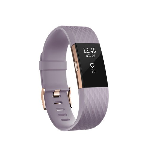 Fitbit Charge 2 Large (17 - 20.5 cm) - Lavender Rose Gold