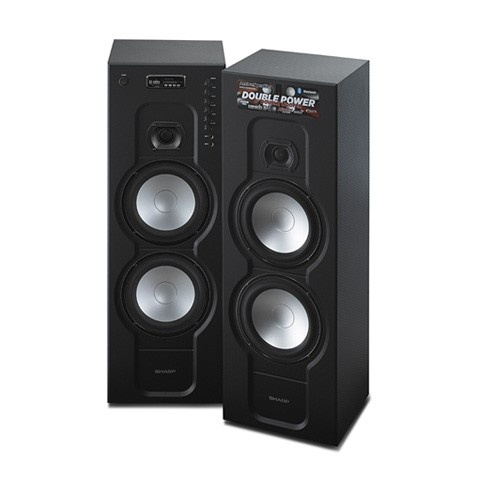 Sharp Active Speaker Carbon CBOX-RB988UBL
