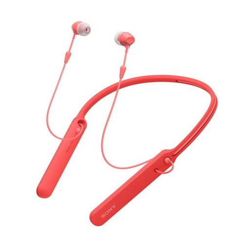 Sony Wireless In-ear Headphones WI-C400 - Red