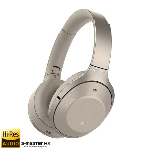 Sony Wireless Noise-Canceling Headphones WH-1000XM2 - Gold