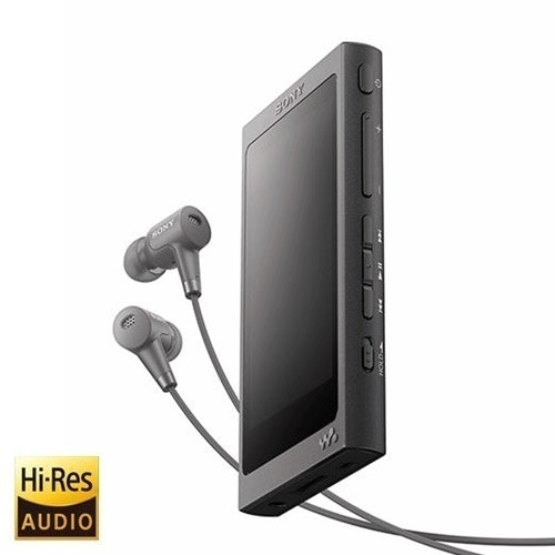 Sony Walkman With High-Resolution Audio NW-A46HN - Black
