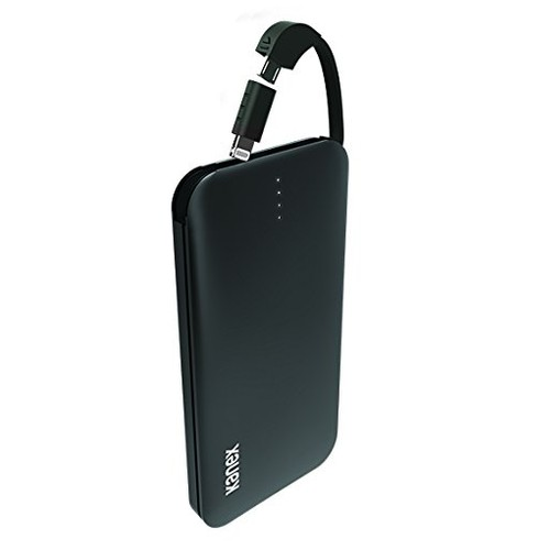 KANEX GoPower Plus 8,000 mAh Micro-USB Battery with Lightning Adapter - Matte Black