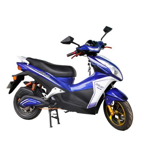 Selis Sepeda Listrik Merak - Blue