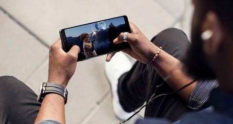 Samsung Galaxy A8+ (2018 Edition) - Orchid Gray