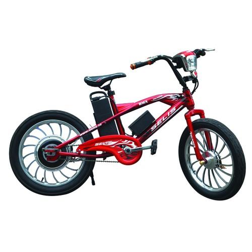Selis Sepeda Listrik Tipe Thunder - Red