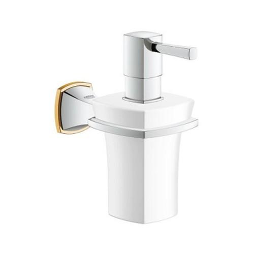 Grohe Grandera soap dispenser +holder