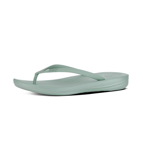 Fitflop Iqushion Ergonomic Flipflop, Aqua, (6)