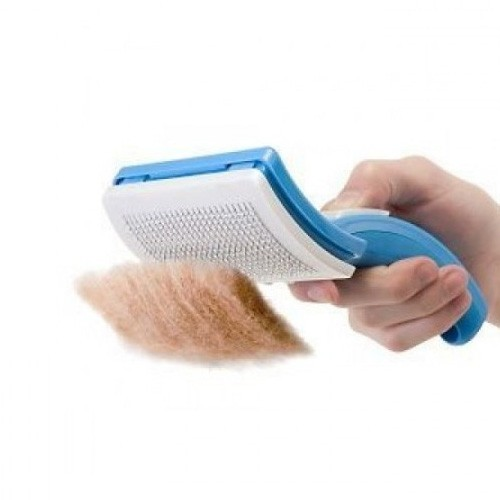 Self-Cleaning Brush For Dogs & Cats (Sisir Kucing & Anjing)