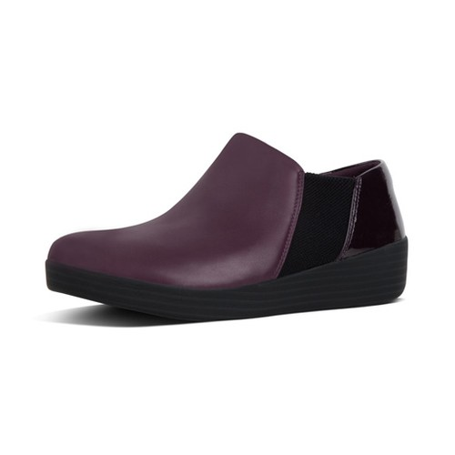 Fitflop Superchelsea Slip On, Deep Plum Mix, (Us9)