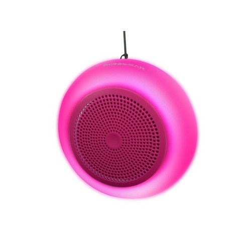 SonicGear Pandora Lumo 2 Bluetooth Speaker with Light - Pink