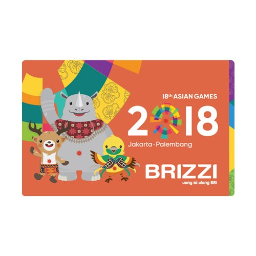 Brizzi BRI Asian Games - KAB Orange