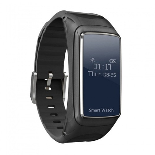 Smartwatch with Detachable Bluetooth Earphone & Heart Rate Monitor B7