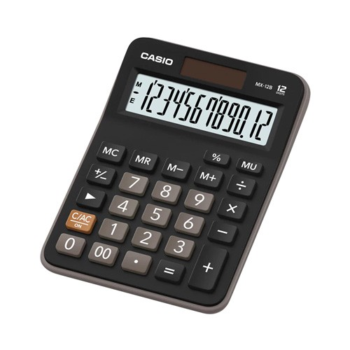 Casio Calculator MX-12B - Black