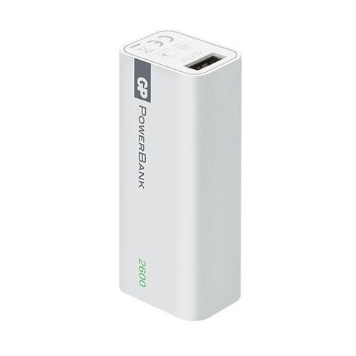 GP Power Bank 1 Series 2600 mAh - White