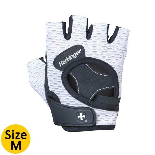 Harbinger Women Flexfit Gloves White -  Size M