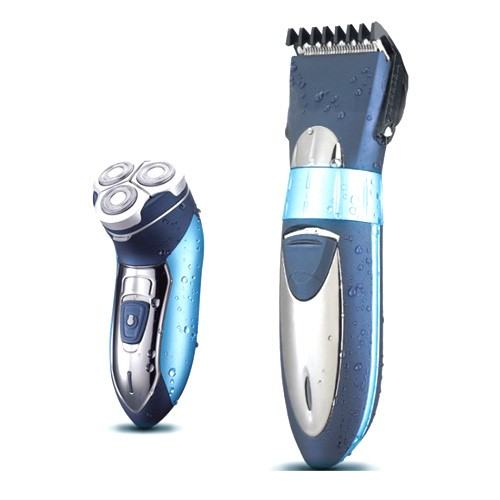 Kemei Rechargable Electric Shaver 2 in 1 Razor Trimmer KM-7392