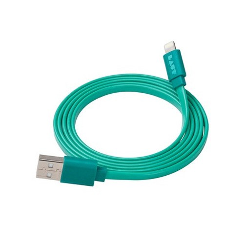 Laut Link Flat Cable Lightning - Turquoise
