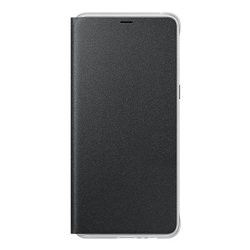 Samsung Neon Flip Case for Galaxy A8+ (2018 Edition) - Black