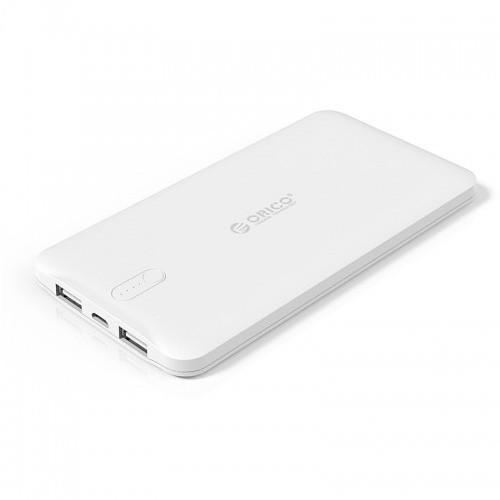 Orico Scharge Polymer Power Bank 5000 mAh LD50 - White